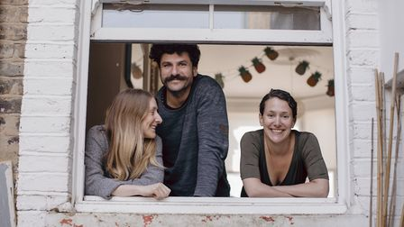 Josie, Joao and Tiffany have lived on the street for five years now. The flatmates come from Reading