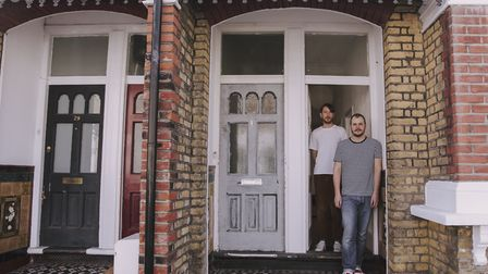 James and Ben have been in London for 10 years but only moved into the street three months ago. They