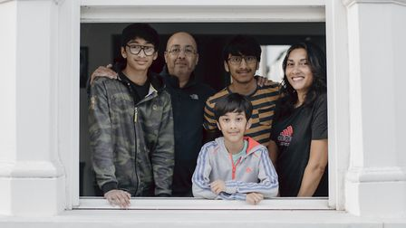 Kiran, Arvid, Nilesh, Jay and Rooma have lived on the street since 1972. They moved to Dalston from