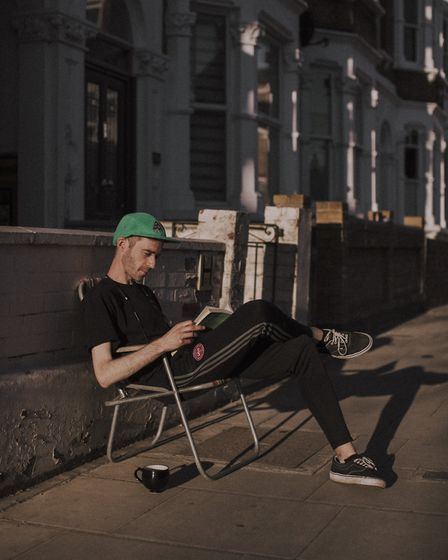 Patrik has lived on the street for one month. He moved from another street in the borough to spend t