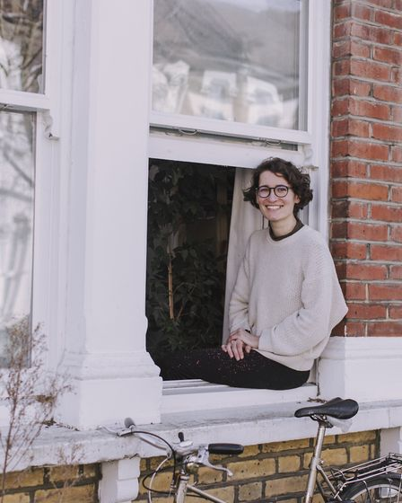 Sibylle is from Switzerland and has lived on the street for three years. Picture: Zoe Savitz