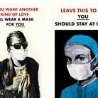 Tobias Ross-Southall and Andrew Gepp's World War Two-style silkscreen prints for the NHS. Picture: T