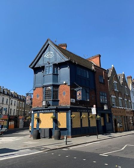 The Camden Eye in Kentish Town Road, Camden. Picture: Archant