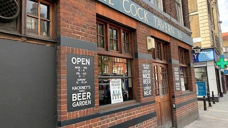 The Cock Tavern in Mare Street, Hackney. Picture: Archant
