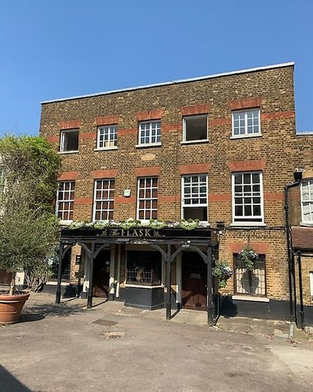 The Flask, in Flask Walk, Hampstead. Picture: Archant
