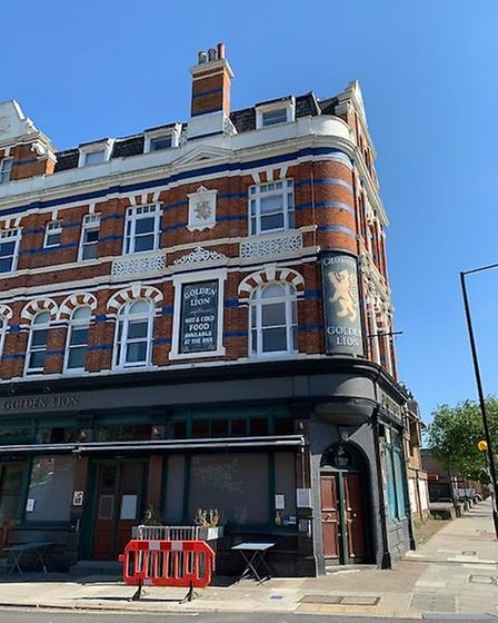 The Golden Lion, in Royal College Street, Camden. Picture: Archant