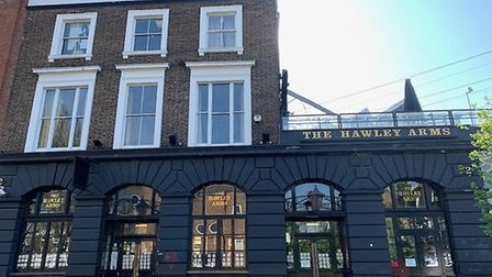 The Hawley Arms in Castlehaven Road, Camden. Picture: Archant