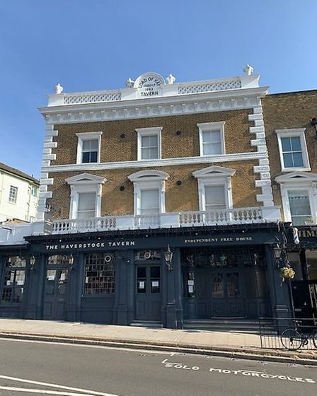 The Haverstock Tavern, in Haverstock Hill, Chalk Farm. Picture: Archant