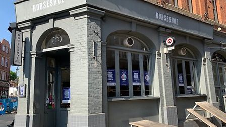 The Horseshoe in Heath Street, Hampstead. Picture: Archant