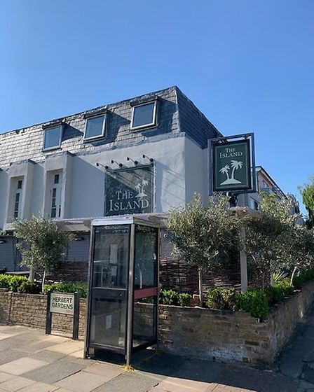 The Island, in College Road, Kensal Green. Picture: Archant