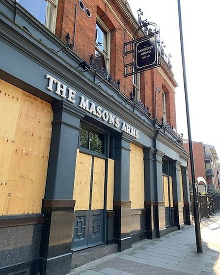 The Mason's Arms in Harrow Road, Kensal Green. Picture: Archant