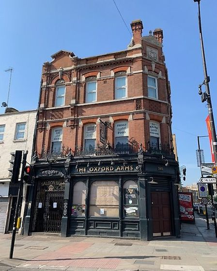 The Oxford Arms in Camden High Street. Picture: Archant