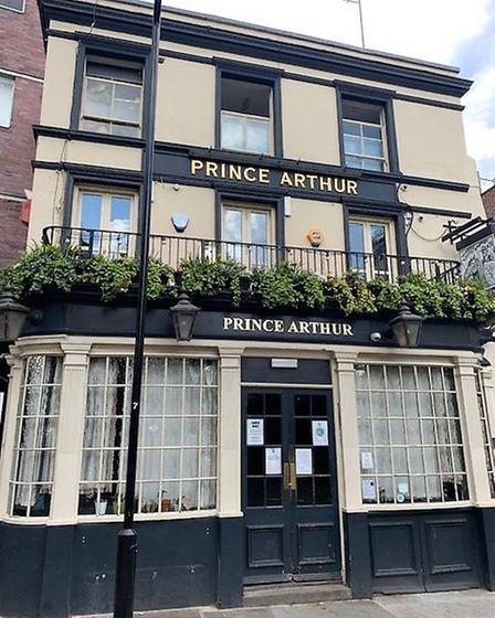Prince ARthur in Brunswick Place, Hackney. Picture: Archant