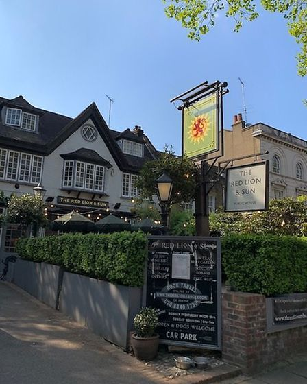 The Red Lion & Sun in North Road, Highgate. Picture: Archant