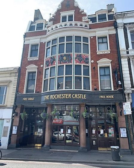 Rochester Castle in Stoke Newington High Street. Picture: Archant
