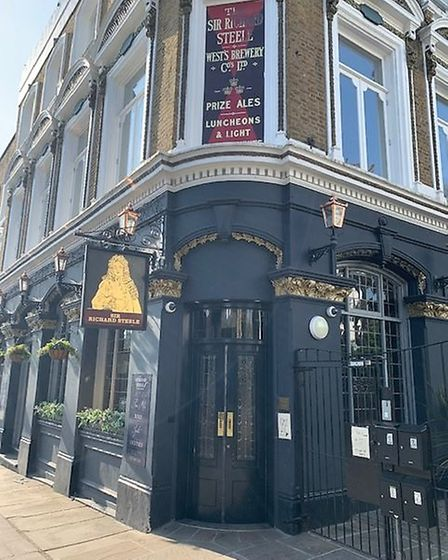 The Sir Richard Steele in Haverstock Hill, Belsize Park. Picture: Archant