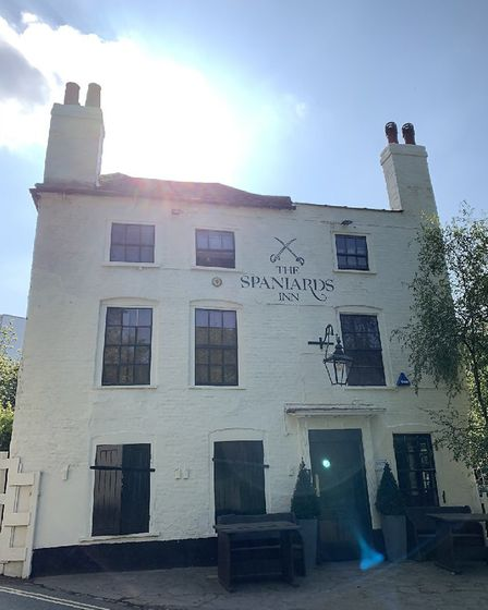 The Spaniards Inn in Spaniards Road, Hampstead. Picture: Archant