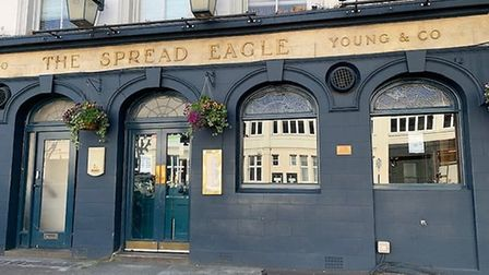 The Spread Eagle in Albert Street, Camden. Picture: Archant