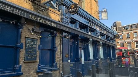 The Twelve Pins in Seven Sisters Road, Finsbury Park. Picture: Archant