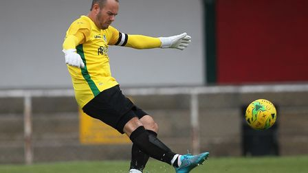 Shane Gore of Wingate and Finchley during Hornchurch vs Wingate & Finchley, BetVictor League Premier