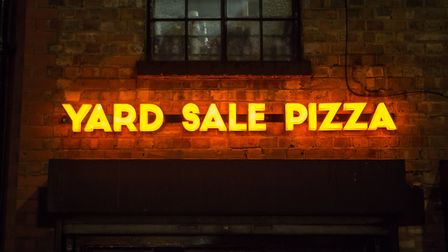 Yard Sale Pizza was launched in 2014 in Lower Clapton Road.