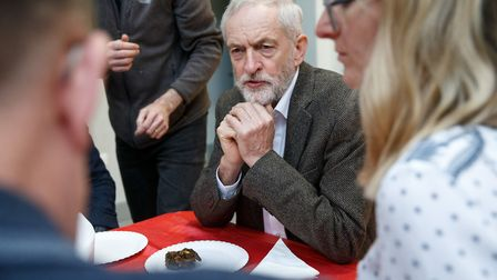 Labour leader Jeremy Corbyn. Photograph: Robert Perry/PA Wire.