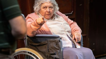 Miriam Margolyes in Sydney and The Old Girl at Park Theatre