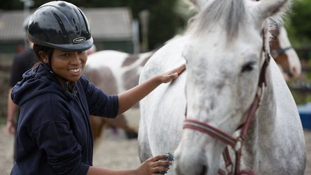 Equine Charity Strength in Horses works with vulnerable young people
