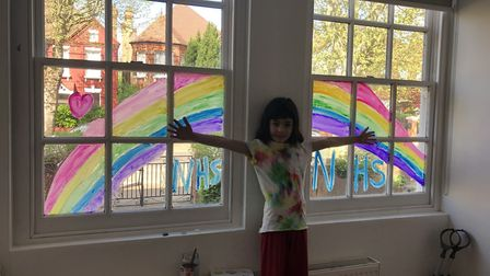 Abacus Belsize Primary School pupil. Picture: Alina Shawcross