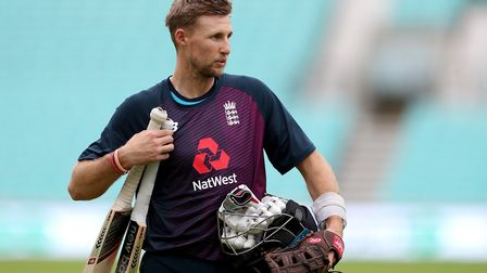 England's Joe Root during a nets session