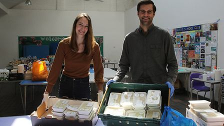Two of HVC's founders - Brendan and Kate Guy. Picture: Ruth Corney