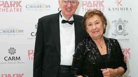 Jeremy Bond with his wife Vicky.
