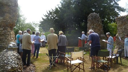 A scene from the Celebrating Blythburgh service last year. Picture: David Tytler