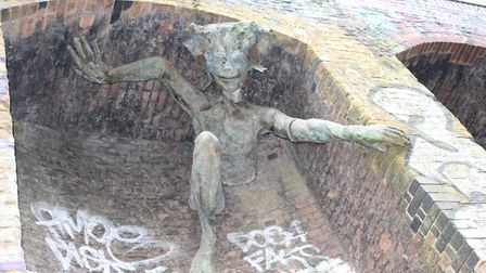 The Spriggan by Marilyn Collins, on the Parkland Walk, Crouch End