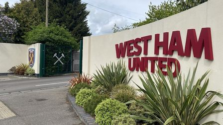 West Ham United's training ground (Pic: Jacob Ranson)