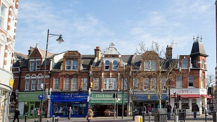 Crouch End Broadway, where businesses are fighting to stay afloat. Picture: Hugh Flouch/Wikimedia Co