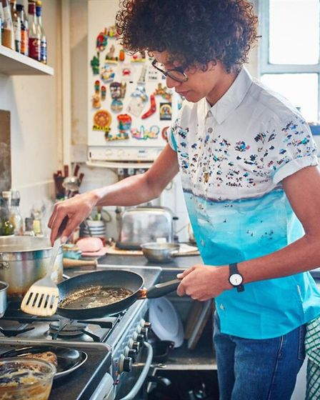 Zoe Adjonyoh from Zoe's Ghana Kitchen has been cooking free meals for vulnerable people in Hackney W
