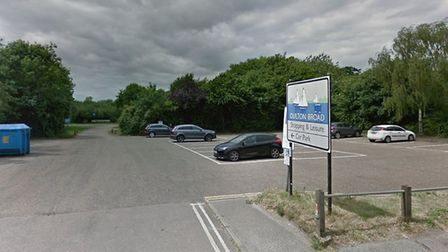 A group of travellers have arrived in Oulton Broad. Picture: Google