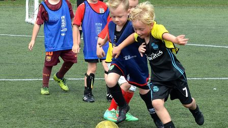 Waveney FC family fun day. Pictures: Mick Howes