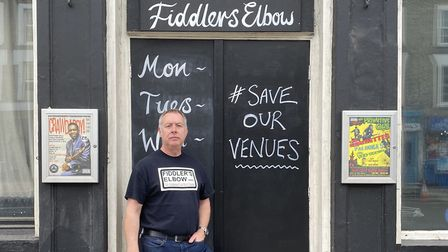 Fiddler's Elbow co-owner Dan Maiden is hoping to raise £15,000. Picture: The Fiddler's Elbow