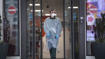 The priority is to source more PPE for social care. Picture: Victoria Jones/PA
