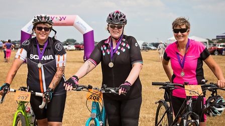 The Southwold Women on Wheels event 2018. Pictures: Andy Langley Photography