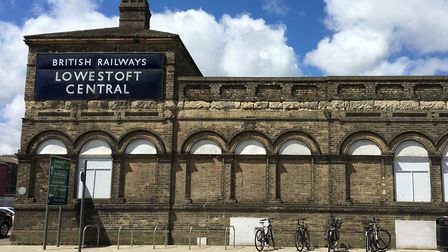 The Lowestoft Railway Sation. Picture: Courtesy of East Suffolk Lines Community Rail Partnership