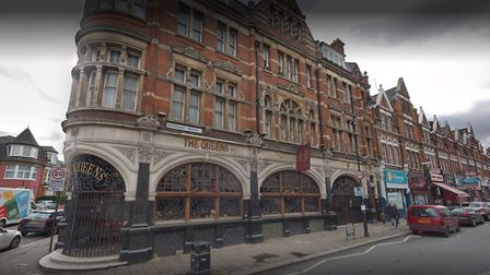 The Queens pub in Crouch End. Picture: Google
