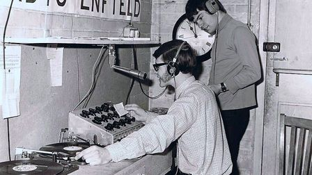Royal Free Radio was founded on May 24 1970 in an old store cupboard at Chase Farm Hospital and was