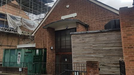 The Adath Yisroel Burial Society's building, perched on the edge of Cissold Park in Islington. They
