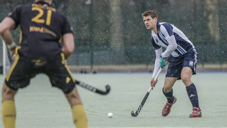 Richard Wijtenburg-Smith in action for Hampstead & Westminster (pic Mark Clews)