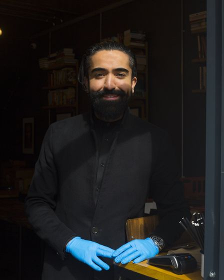 Hackney 215 restaurant owner Ali Kalkan is now using his kitchen to provide free meals for NHS worke