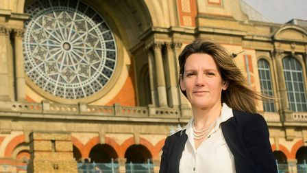 "Chief executive Louise Stewart says it is ""unthinkable"" Alexandra Palace won't be there to welcome c"