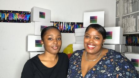 Mother Andreena Bogle-Walton and her daughter Renée. Picture: Courtesy of Andreena and Renée Bogle-W